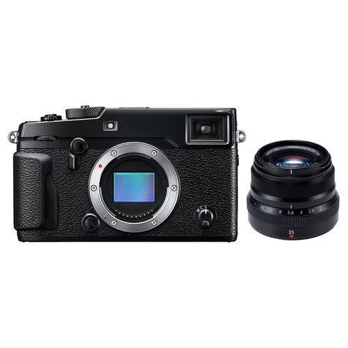 Fujifilm X-Pro2 Mirrorless Digital Camera with 35mm Lens Kit