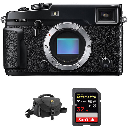 Fujifilm X-Pro2 Mirrorless Digital Camera Accessories Kit