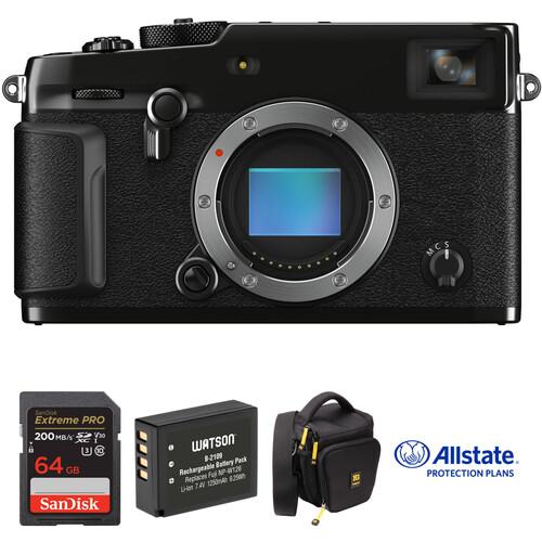 FUJIFILM X-Pro3 Mirrorless Digital Camera Body Deluxe Kit (Black)