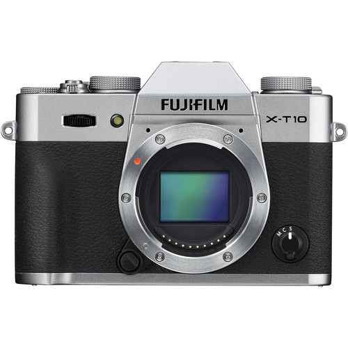 Fujifilm X-T10 Mirrorless Digital Camera with 35mm Lens Kit (Silver)