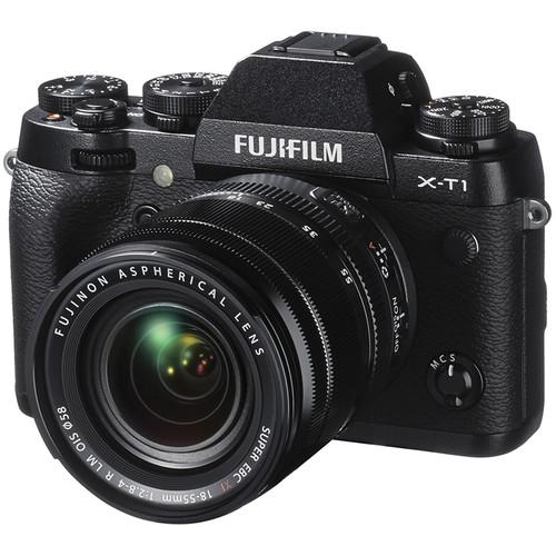 FUJIFILM X-T1 Mirrorless Digital Camera with 18-55mm Lens