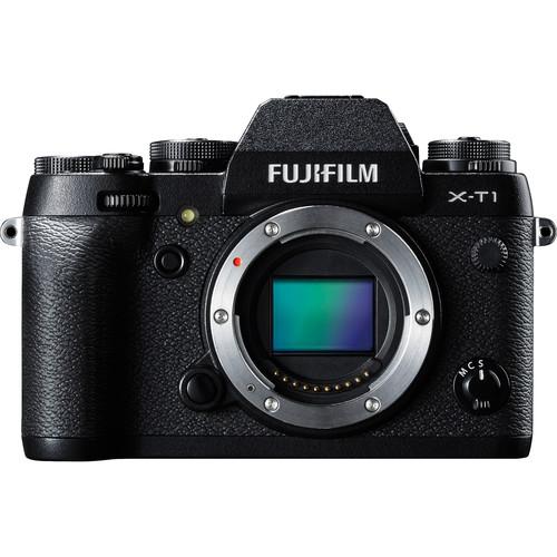 Fujifilm X-T1 Mirrorless Digital Camera Deluxe Kit (Body Only, Black)