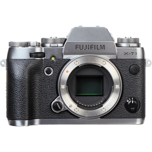 Fujifilm X-T1 Mirrorless Digital Camera Deluxe Kit (Body Only, Graphite Silver Edition)