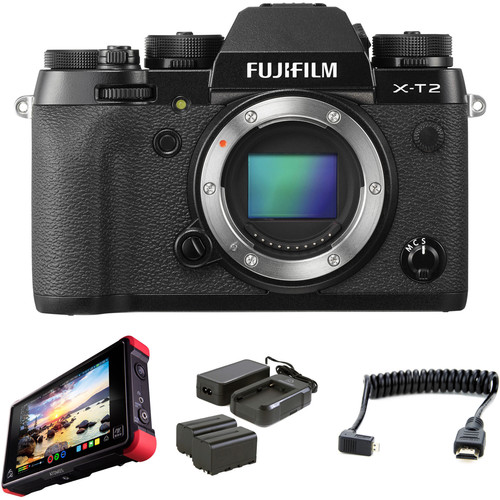 Fujifilm X-T2 Mirrorless Digital Camera with Pro HDR Kit
