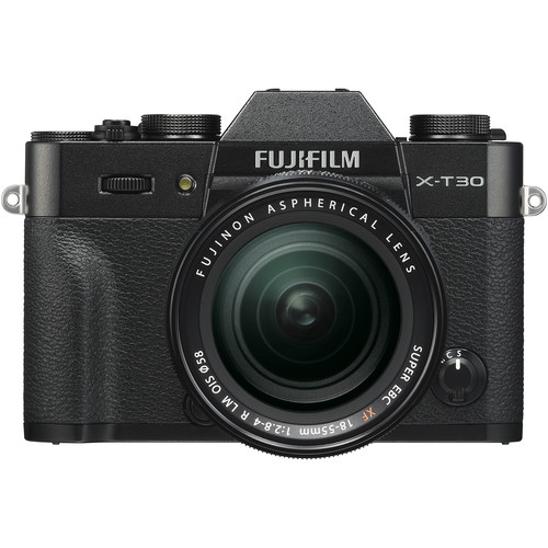 FUJIFILM X-T30 Mirrorless Digital Camera with 18-55mm Lens (Black)