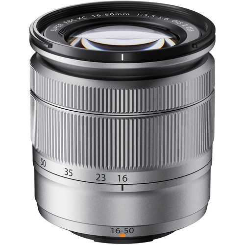 Fujifilm XC 16-50mm f/3.5-5.6 OIS II Lens (Silver)