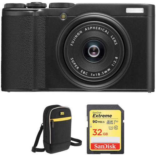 FUJIFILM XF10 Digital Camera Basic Kit (Black)