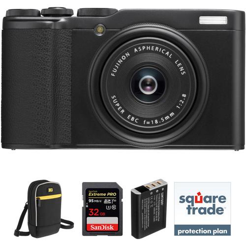 FUJIFILM XF10 Digital Camera Deluxe Kit (Black)