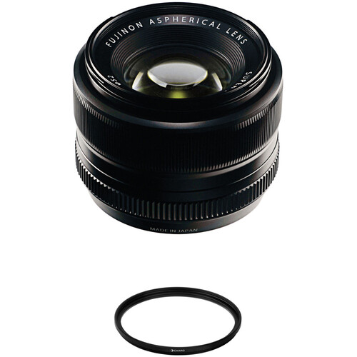 FUJIFILM XF 35mm f/1.4 R Lens with UV Filter Kit