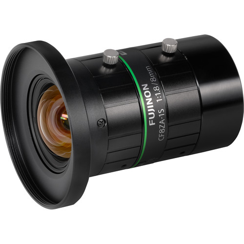 Fujinon CF8ZA-1S 8mm f/1.8 Machine Vision C-Mount Lens