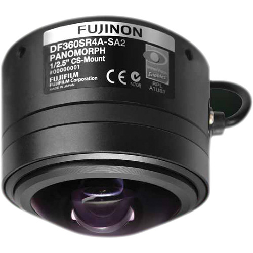 Fujinon CS-Mount 1.3mm 5Mp Panomorph 360 Wide-Angle Lens