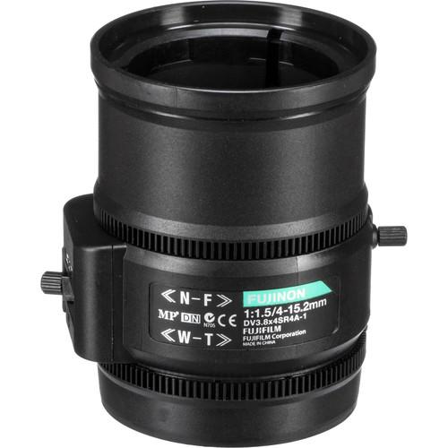 Fujinon C-Mount 4-15.2mm Varifocal Lens