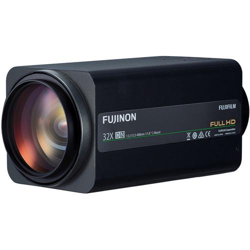 "Fujinon 1/1.8"" C-Mount 12.5-400mm f/3.1-16 32x Zoom Telephoto Lens"