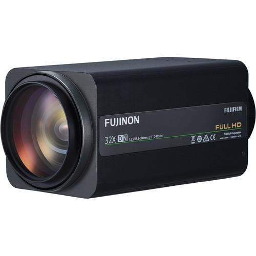 "Fujinon 2/3"" C-Mount 15.6-500 mm f/3.9-16 32x Zoom Telephoto Lens"