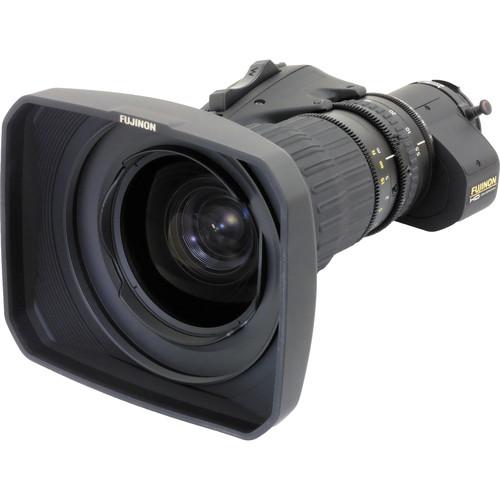 Fujinon HA18X5.5BERM-M6 Premier Series ENG/EFP Lens with Manual Focus, Servo Zoom, and Robotics Applications