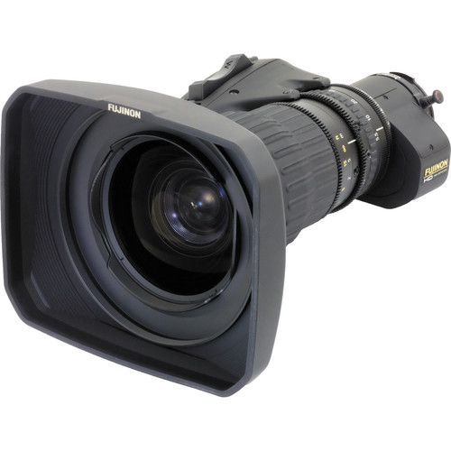 Fujinon HA18X5.5BEZD-T58 Premie Series ENG/EFP Lens with Digital Servo & 13-Bit Encoders and Quick Frame