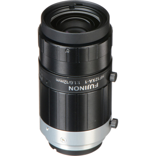 Fujinon HF-XA Series C-Mount 12mm Fixed Focal Lens