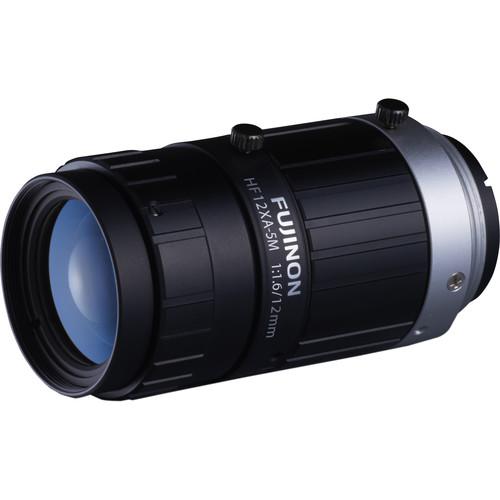 """Fujinon HF12XA-5M 2/3"""" 12.4mm 5MP Machine Vision Lens"""