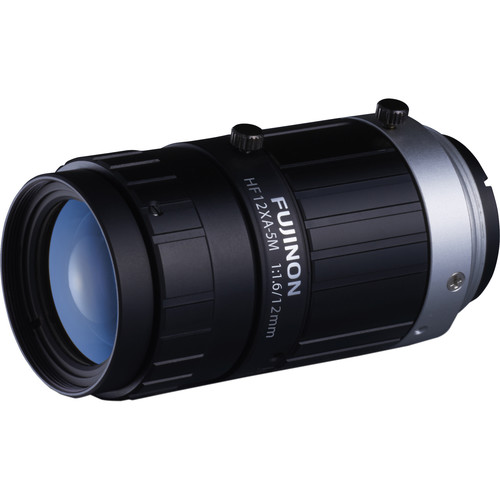 "Fujinon HF12XA-5M 2/3"" 12.4mm 5MP Machine Vision Lens"