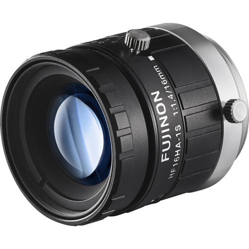 "Fujinon 1.5MP 16mm C Mount Lens with Anti-Shock & Anti-Vibration Technology for 2/3"" Sensors"