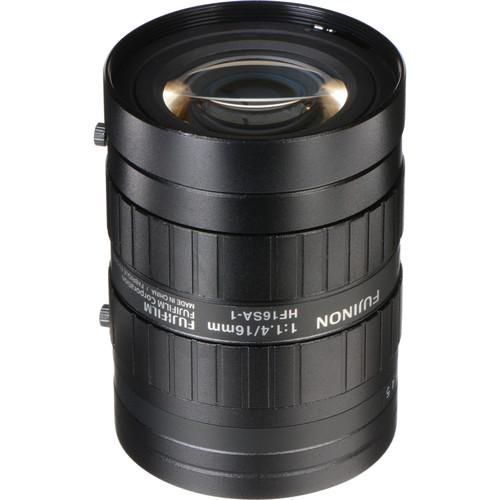 "Fujinon HF16SA1 2/3"" 16mm f/1.4 C-Mount Fixed Focal Lens"
