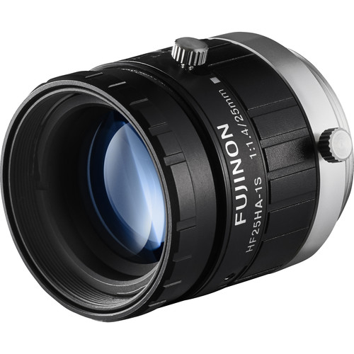 "Fujinon 1.5MP 25mm C Mount Lens with Anti-Shock & Anti-Vibration Technology for 2/3"" Sensors"