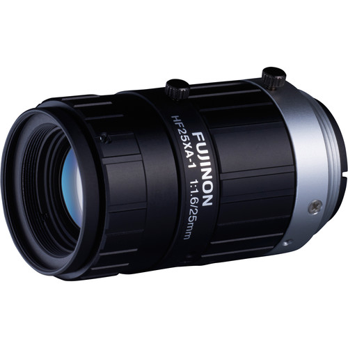 Fujinon HF-XA Series C-Mount 25mm Fixed Focal Lens