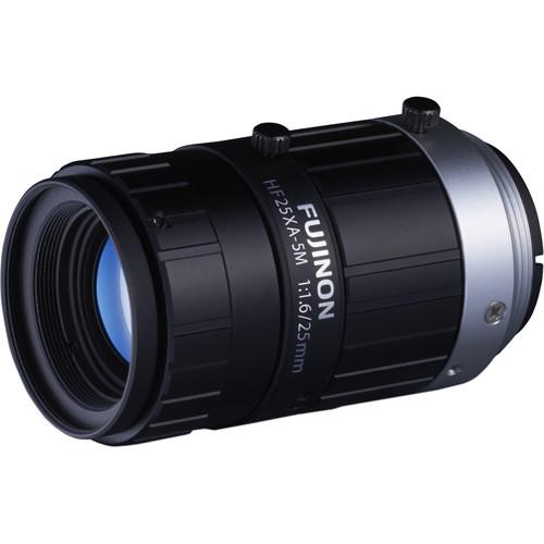 """Fujinon HF25XA-5M 2/3"""" 25.07mm 5MP Machine Vision Lens"""