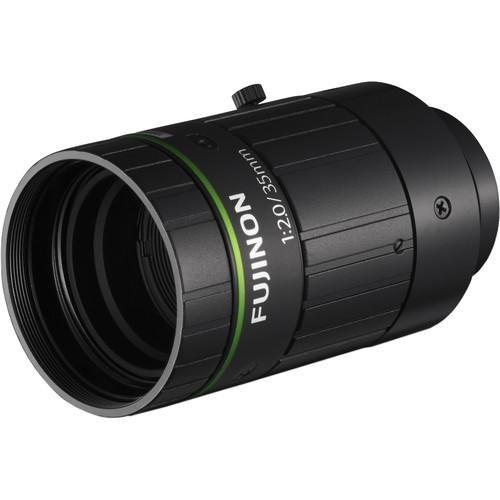 Fujinon HF3520-12M C-Mount 35mm Fixed Lens