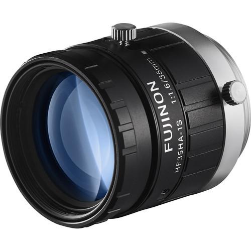 "Fujinon 1.5MP 35mm C Mount Lens with Anti-Shock & Anti-Vibration Technology for 2/3"" Sensors"