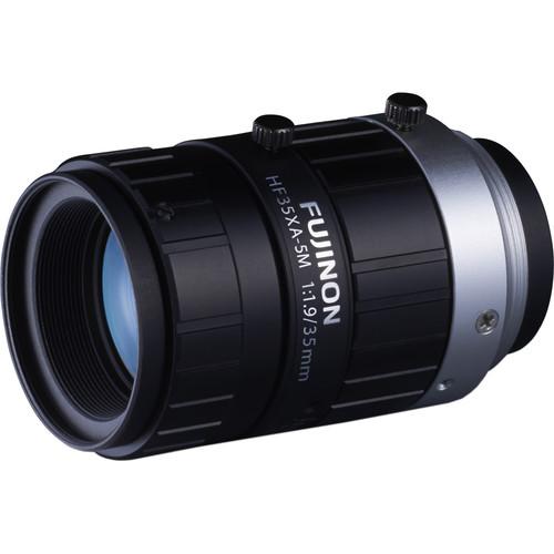 """Fujinon HF35XA-5M 2/3"""" 35.16mm 5MP Machine Vision Lens"""