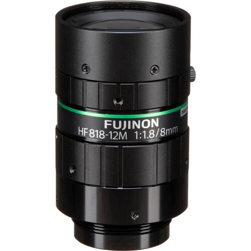 Fujinon HF818-12M C-Mount 8mm Fixed Lens