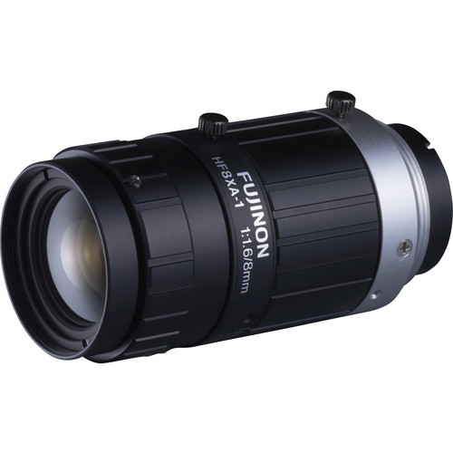 Fujinon HF-XA Series C-Mount 8mm Fixed Focal Lens