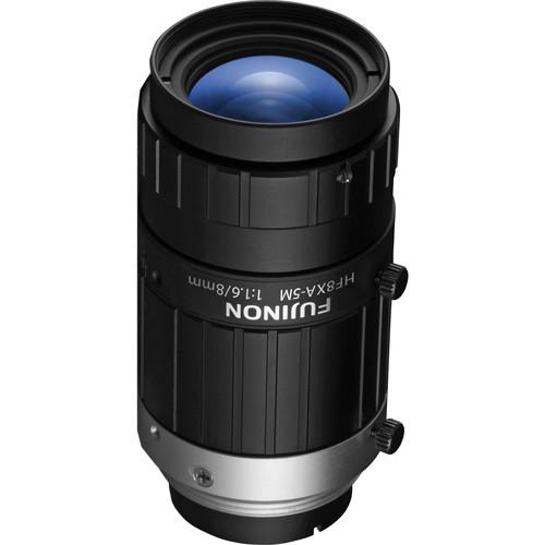 """Fujinon HF8XA-5M 2/3"""" 8.3mm 5MP Machine Vision Lens"""