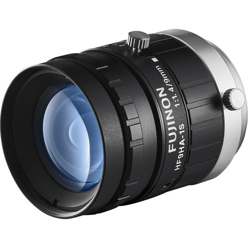 "Fujinon 1.5MP 9mm C Mount Lens with Anti-Shock & Anti-Vibration Technology for 2/3"" Sensors"