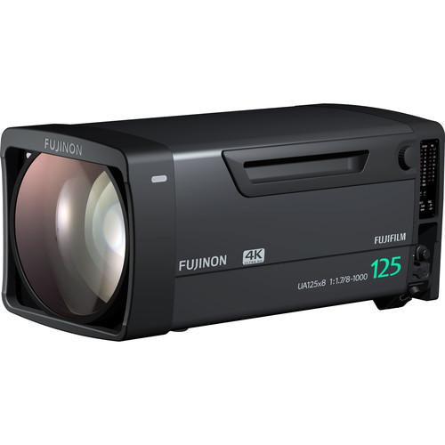 Fujinon 4K UHD 125X Zoom F1.7 Broadcast Lens