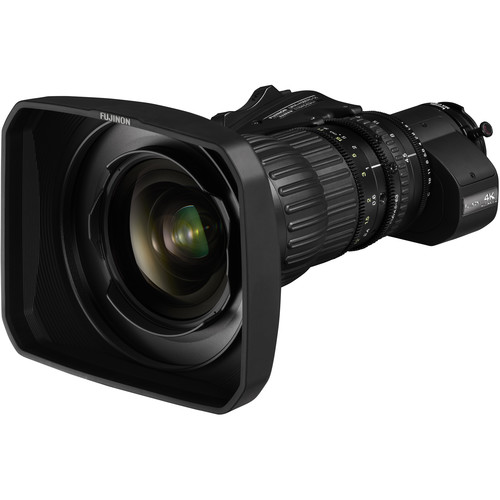 Fujinon 4K UA14x4.5 BERD ENG-Style Lens with Servo Zoom and Doubler