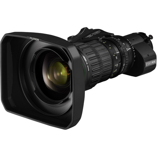 Fujinon 4K UA18x5.5 BERD ENG-Style Lens with Servo Zoom and Doubler
