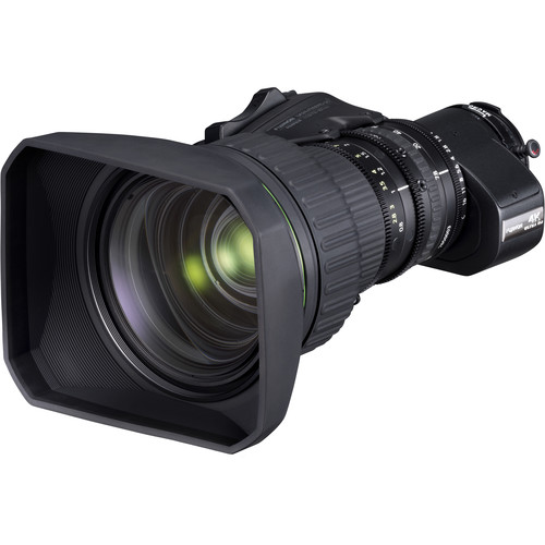 "Fujinon UA Series 24x Zoom 2/3"" 4K UHD Portable Zoom Lens with 2x Extender"
