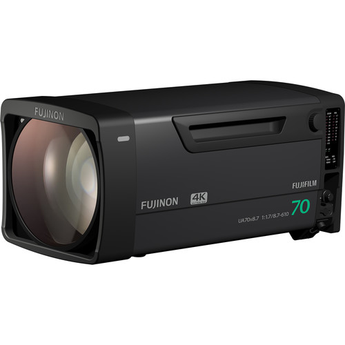 Fujinon 4K-compatible broadcast Zoom lens