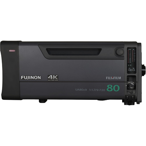 Fujinon UA80x9 1.2x 4K Plus Premier UHD 80x Box Zoom 1.2x and 2x Extenders
