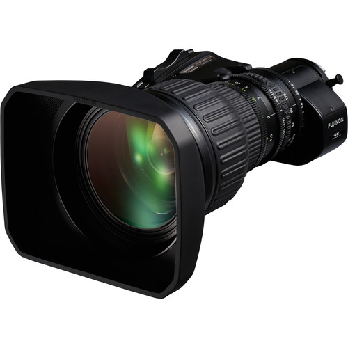 "Fujinon UA22x8BERD UA Series 22x Zoom 2/3"" 4K UHD Tele ENG Lens with 2x Extender"
