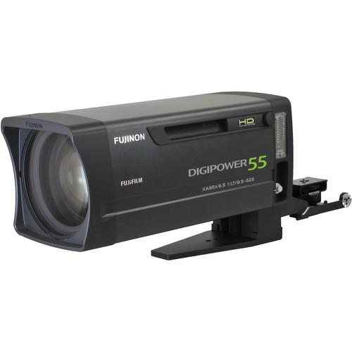 "Fujinon XA55X9.5BESM 9.5-525mm f/1.7-2.9 2/3"" EFP Box Lens with Lens Support"