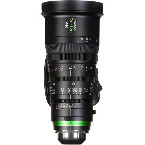 Fujinon 20-120mm T3.5 Cabrio Premier PL Lens (XK6x20)