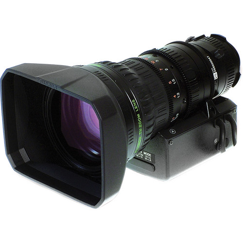 "Fujinon XT17SX4.5BMD-DSD 1/3"" HD Lens for Video Conferencing, Motor Drive Only"