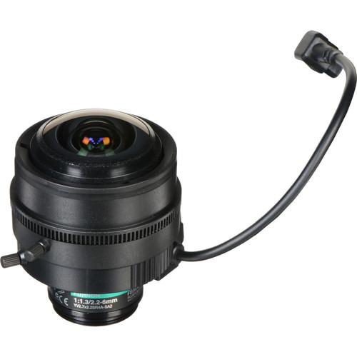 Fujinon CS-Mount 2.2-6mm Varifocal Lens