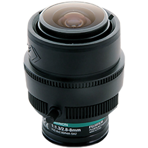 Fujinon 3 Mp 2.8 to 8mm Day/Night Varifocal 2.8x Zoom Lens
