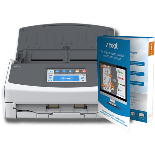 Fujitsu Scansnap IX1500 Powered Neat Bundle