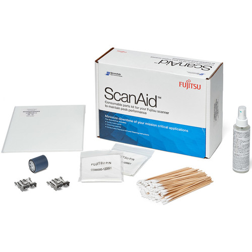 Fujitsu ScanAid Cleaning & Consumables Kit for FI-6010N