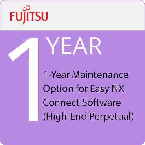 Fujitsu 1-Year Maintenance Option for Easy NX Connect Software (High-End Perpetual)